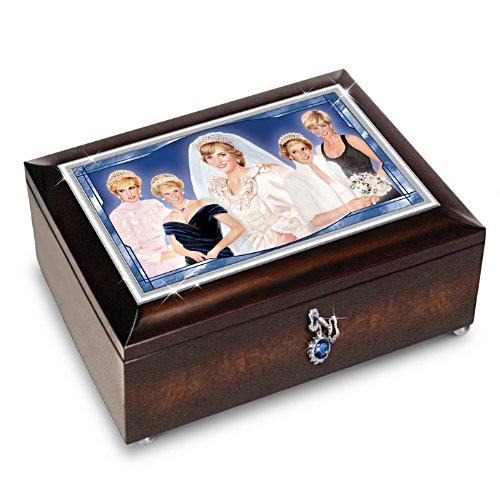 'Princess Diana' Illuminated Music Box