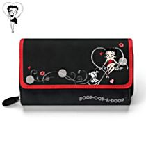 Betty Boop Women's Tri-Fold Wallet