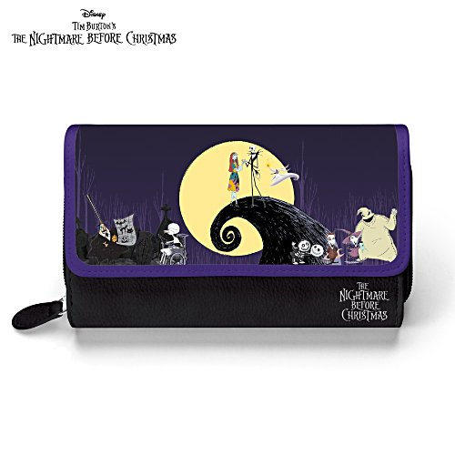 "Disney Tim Burton's ""The Nightmare Before Christmas"" Wallet"