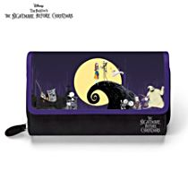 Disney Tim Burton's The Nightmare Before Christmas Women's Tri-Fold Wallet
