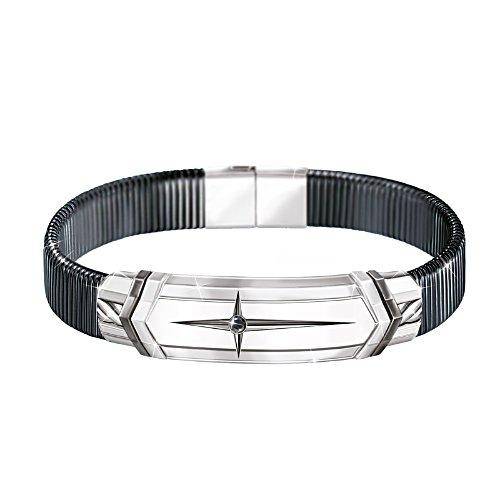 Stark im Glauben – Edelstahl-Armband
