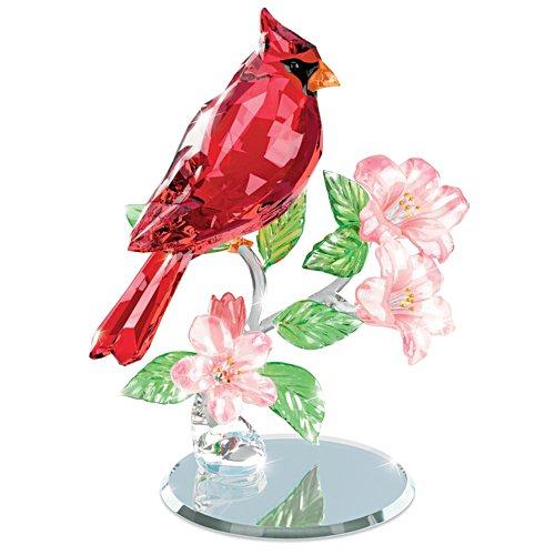 König in Rot – Vogelskulptur