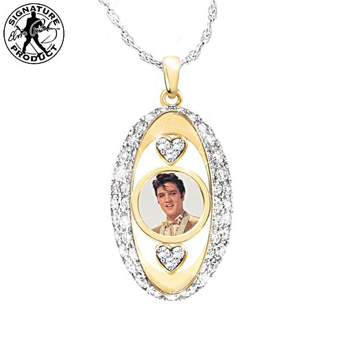 'Forever In Our Hearts' Elvis Presley Pendant Necklace