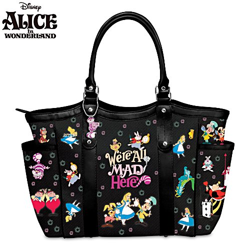 Disney Alice in Wonderland Women's Shoulder Tote Handbag