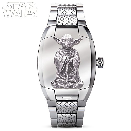 STAR WARS Yoda Flip Cover Men's Watch