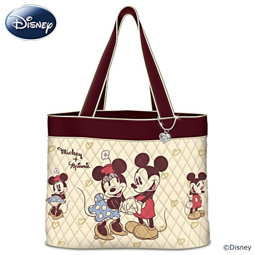 Disney Mickey Mouse And Minnie Mouse Vintage Women's Tote Bag