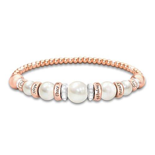 'Pearls Of Serenity' Ladies' Bracelet