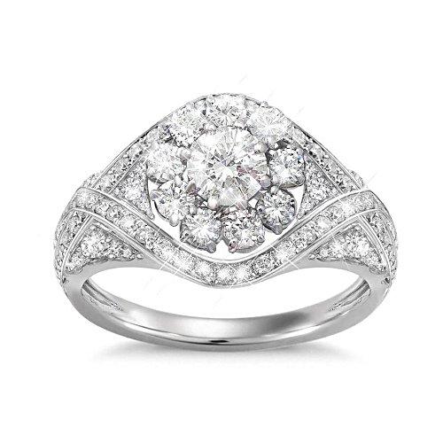 """""""Royal American Rose"""" Meghan Markle-Inspired Diamonesk Ring"""