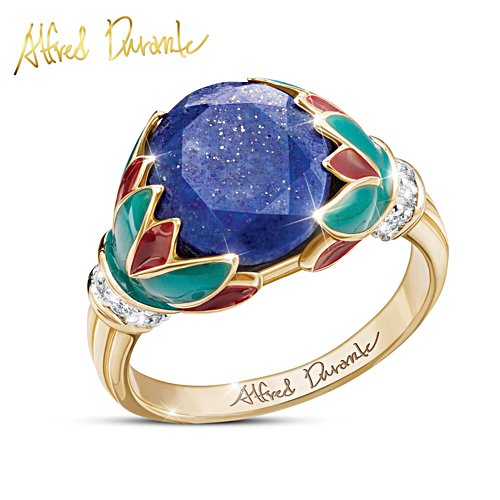 "Alfred Durante ""Treasures Of The Nile"" Lapis Lazuli Ring"