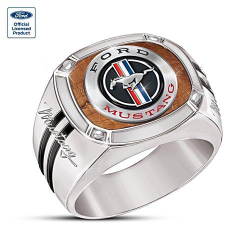 'Mustang: An American Classic' Men's Ring