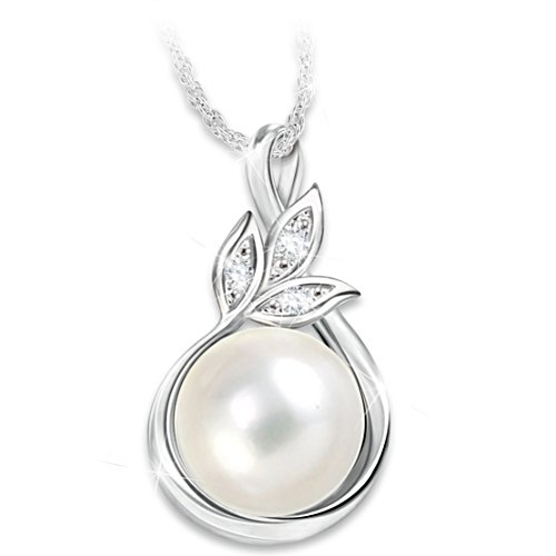Generations of Love Pearl and Diamond Pendant