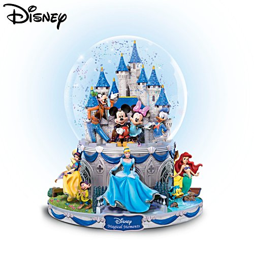 "Disney ""Magical Moments"" Rotating Musical Glitter Globe"
