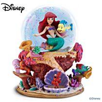 Disney The Little Mermaid Musical Glitter Globe