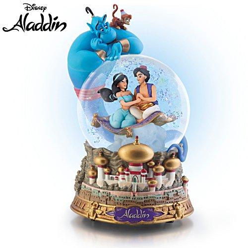 Disney Aladdin Musical Glitter Globe