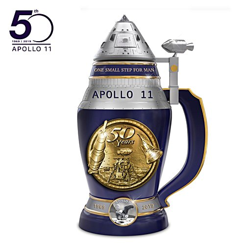 Apollo 11 – porseleinen bierkruik
