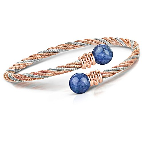 'Beauty Of Nature' Interchangeable Gemstone Bracelet