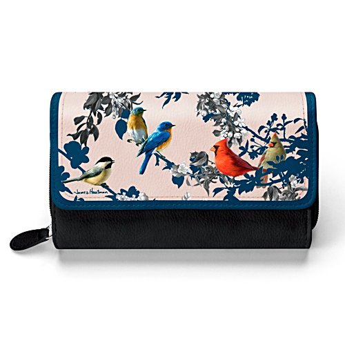James Hautman 'Songs Of Spring' Bird Ladies' Purse