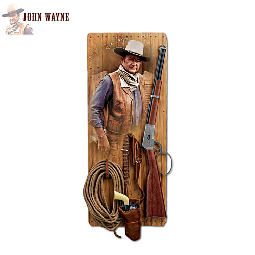 'John Wayne: Western Icon' Wall Décor
