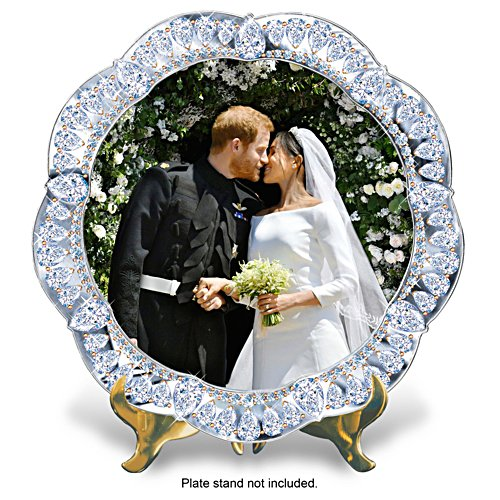 Prince Harry & Meghan Markle Wedding Commemorative Plate