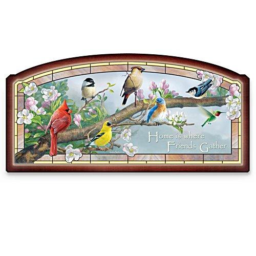 Die Vogelhochzeit – Beleuchtetes Wandbild