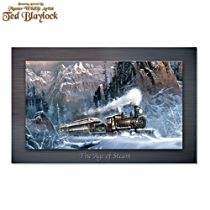 "Ted Blaylock ""The Age Of Steam"" Metal Print Train Wall Decor"