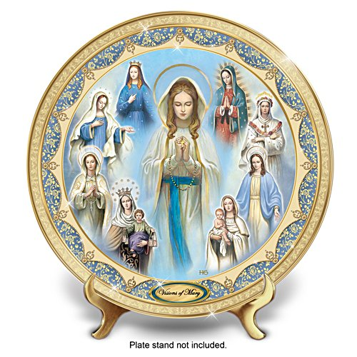 Visions Of Mary' Heirloom Porcelain® Collector Plate