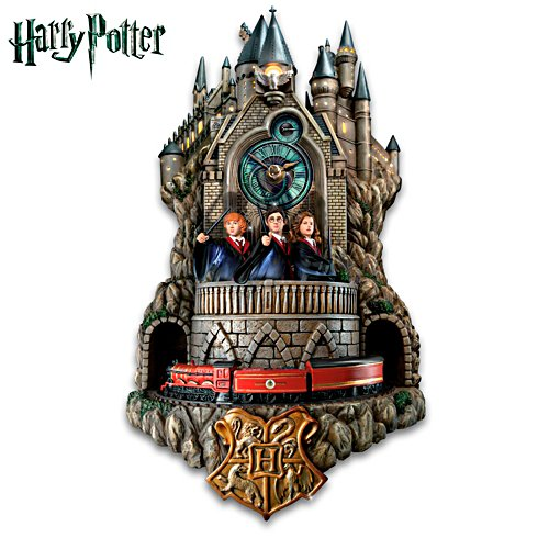 HARRY POTTER Wall Clock With Lights Music And Motion
