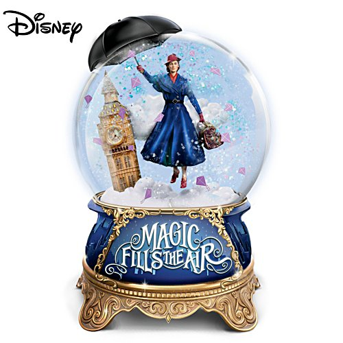 Disney 'Mary Poppins Returns' Musical Glitter Globe