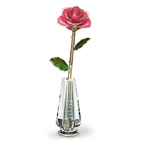 Die Liebe einer Mutter – Rose in Glasvase