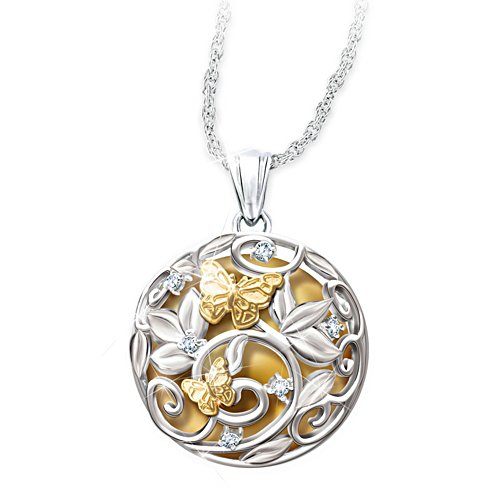 Harmony Ball Pendant Necklace Chimes With Movement