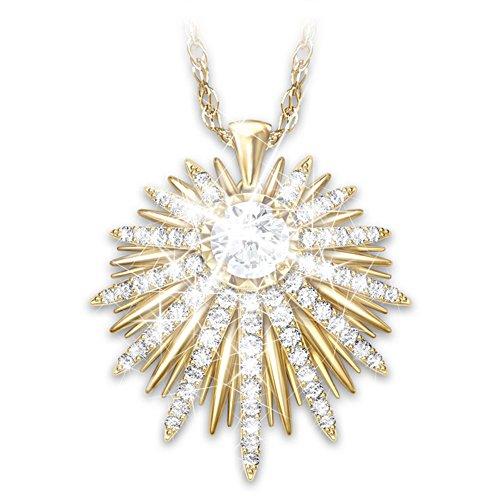 "Maya Angelou ""Shine From Within"" Swarovski Crystal Necklace"