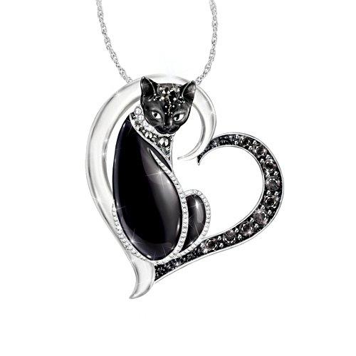 'Midnight Mysticat' Cat Ladies' Pendant