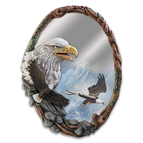 "Ted Blaylock ""Reflections Of Majesty"" Sculpted Wall Mirror"