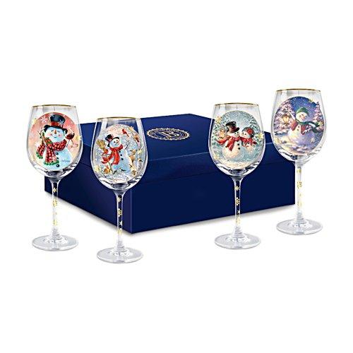 'Holiday Cheer' Wine Glass Set