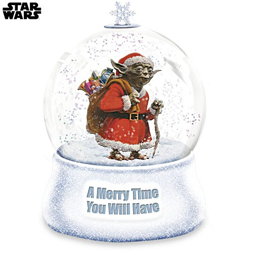 STAR WARS A Merry Time You Will Have Christmas Glitter Globe