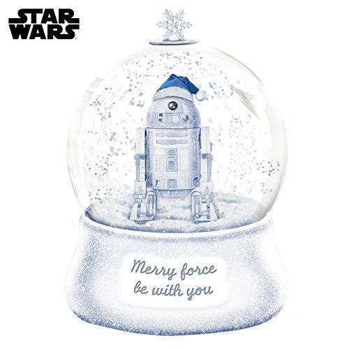 STAR WARS Illuminated Glitter Globe With Sculpted R2-D2