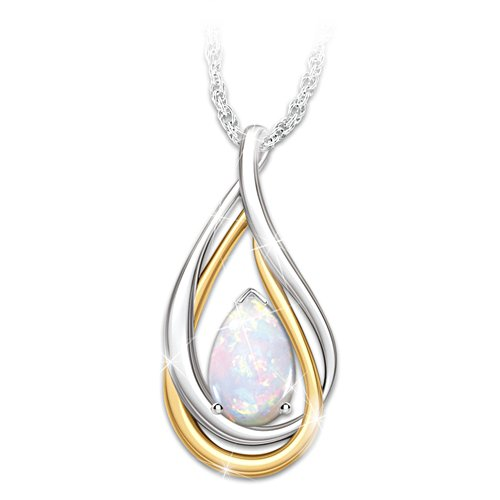 'With You Always' Opal Ladies' Pendant