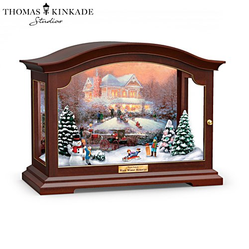 Thomas Kinkade 'Warm Winter Memories' Music Box