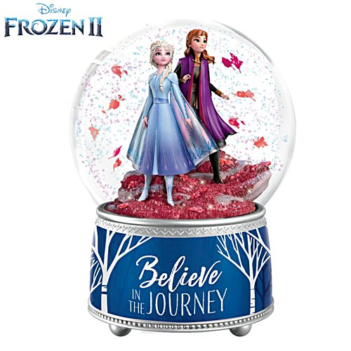 Disney FROZEN 2 'Believe In The Journey' Glitter Globe