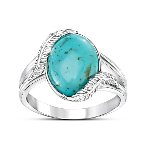 'Sedona Canyon' Turquoise Ladies' Ring