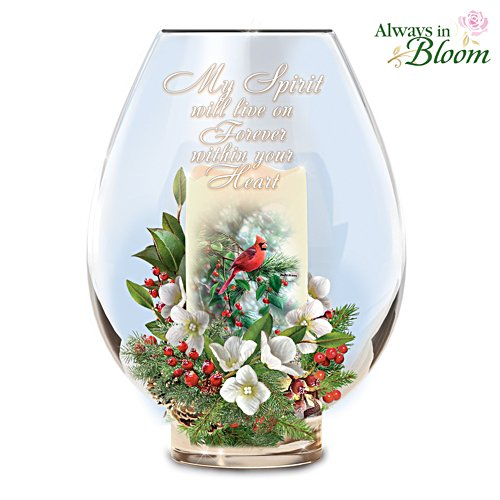 'Messenger From Heaven' Bereavement Candle Holder