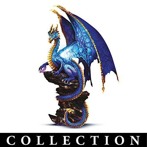 'Ancient Mysteries' Illuminated Dragon Sculpture Collection