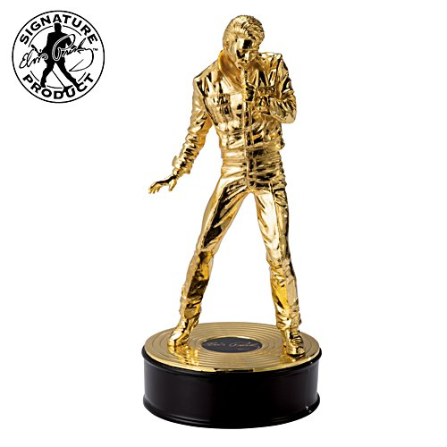 Elvis 85th Birthday Anniversary Cast-Metal Sculpture