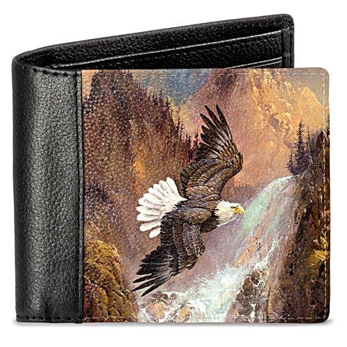 Frei wie ein Adler – Geldbörse mit Adlermotiv