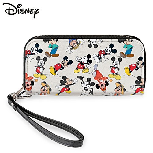 "Disney ""Mickey Mouse Through The Years"" Women's Wallet"