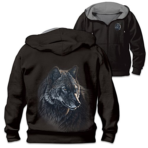 'Spirit Of The Wild' Men's Reversible Hoodie
