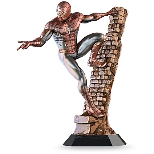 MARVEL® COMICS Cold-Cast Bronze Spider-Man Sculpture
