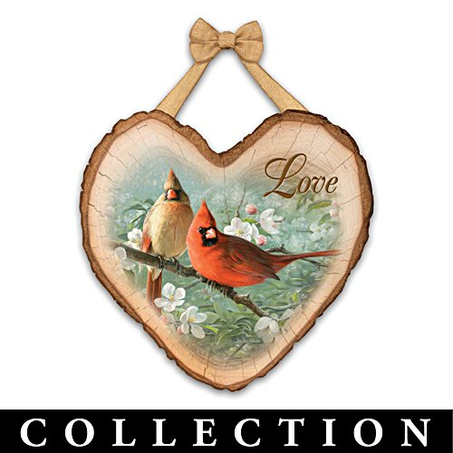 """Joe Hautman """"Heart Full Of Blessings"""" Wall Plaque Collection"""