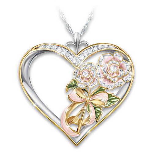 'Flowers In Heaven' Ladies' Pendant