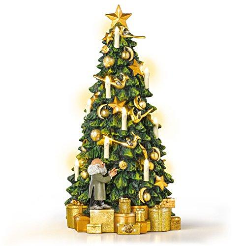Weihnachten in Hogwarts — Tischchristbaum